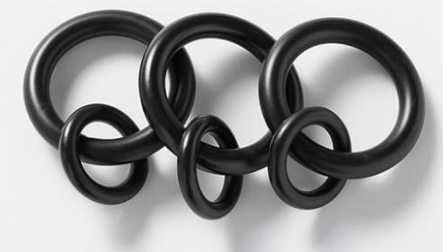 Antique Bronze Round Rings