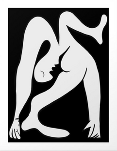 Picasso Black and White #1 Art Print