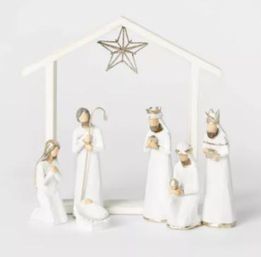 Nativity Decorative Figurine Set