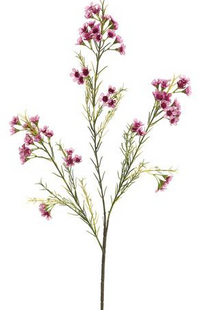 Artificial Waxflower in Mauve Pink