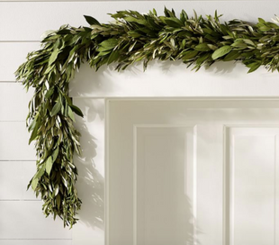 Fresh Olive Leaf & Myrtle Garland