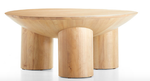 Tom Natural Three-Legged Coffee Table