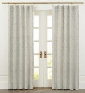 Ellis Leaf Pattern Curtains