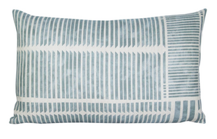 Theo Geometric Stripe Pillow