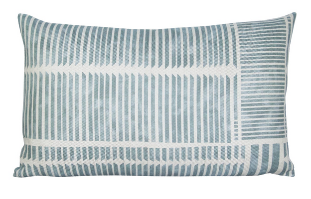 Theo Geometric Stripe Pillow