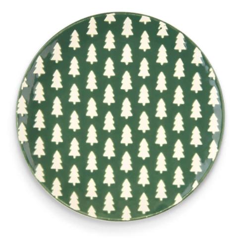 Woodland Trees Plate