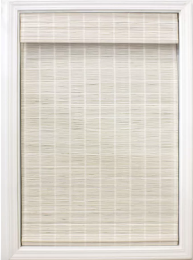 Cordless Matchstick Semi-Sheer Roman Shade