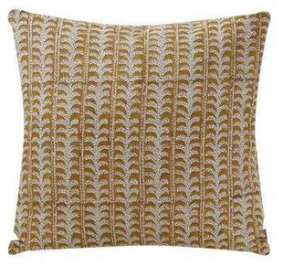 Luxor Saffron Linen Pillow