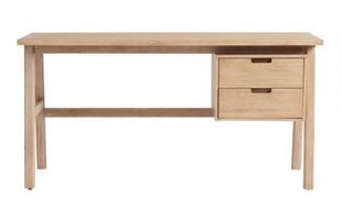 Graywashed Calder Desk