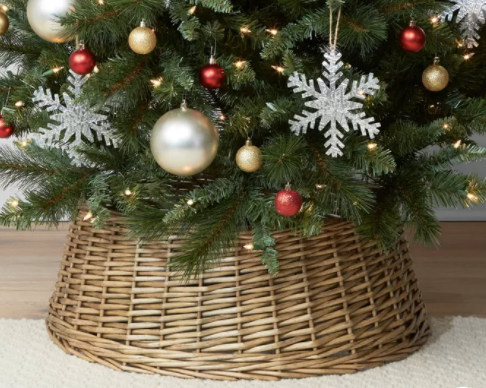 Split Willow Christmas Tree Collar