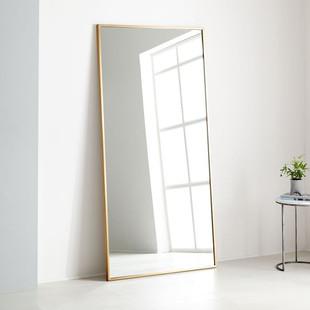 """Metal Frame Oversized 78"""" Floor Mirror"""