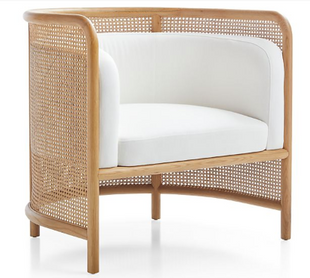 Cane Accent Chair