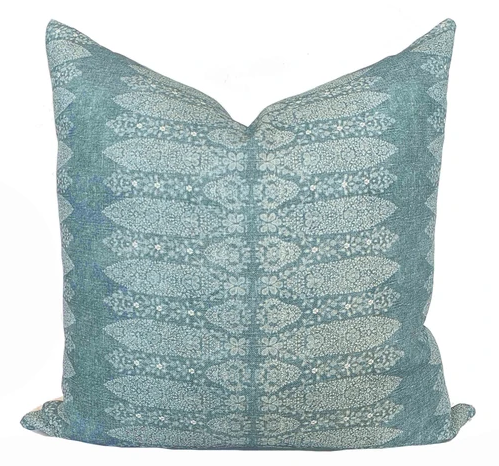 Blue Havana Pillow