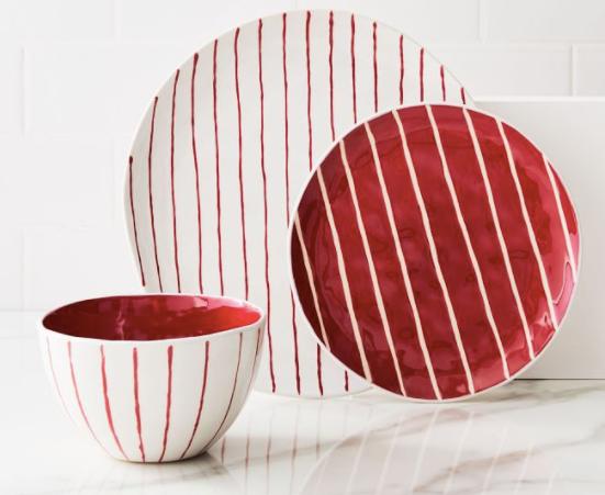 Festive Stripe Dinnerware