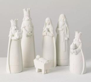 Set of 6 Nativity Figurines