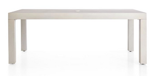 """79"""" Outdoor Sandstone Dining Table"""