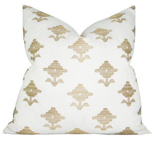 Rubia Embroidery Pillow