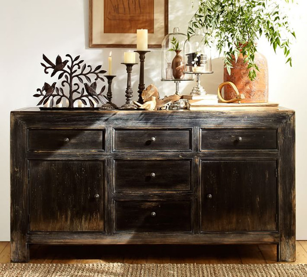Antique Media Console