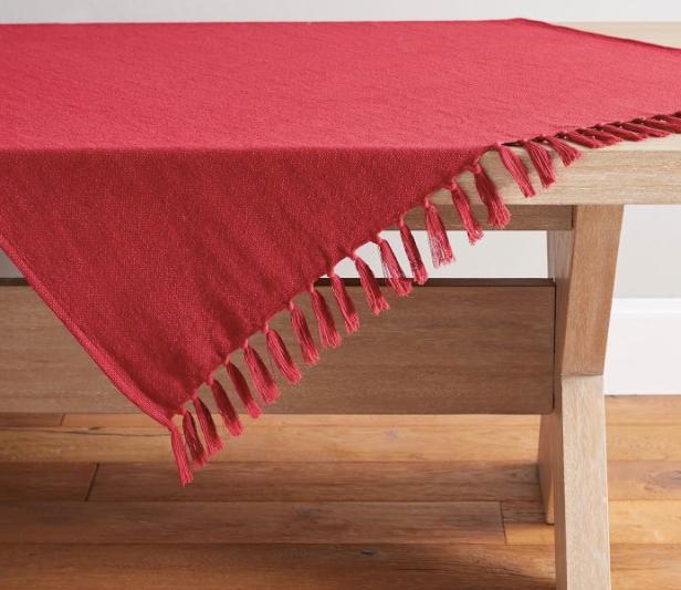 Mason Cotton/Linen Table Throws