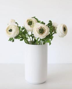 """Silk Ranunculus in Cream - 13"""""""