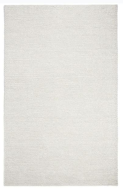 Carisbrooke Casual Solid Wool Rug
