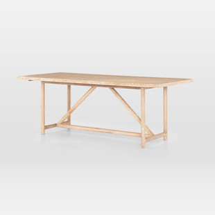Triangle Base Dining Table