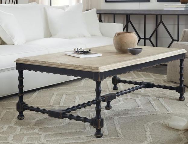 "Stelio 54"" Rectangular Coffee Table"