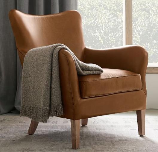 Clark Leather Armchair