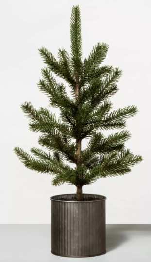 "22"" Faux Potted Pine Tree"
