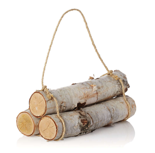 Birch Logs, Set of 3