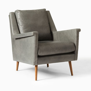 Leather Mid-Century Chair