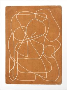 Abstract Line 17 Art Print