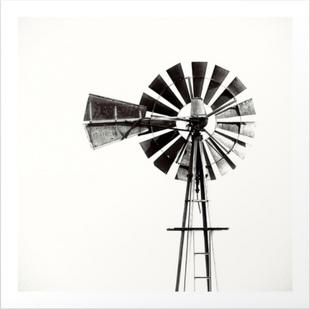 Windmill #3 Art Print