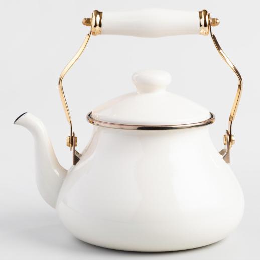 Ivory Tea Kettle