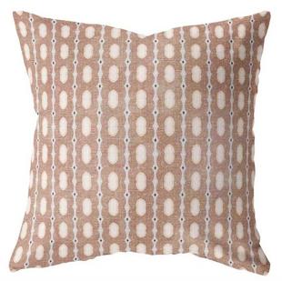 Moroccan Print Pillow