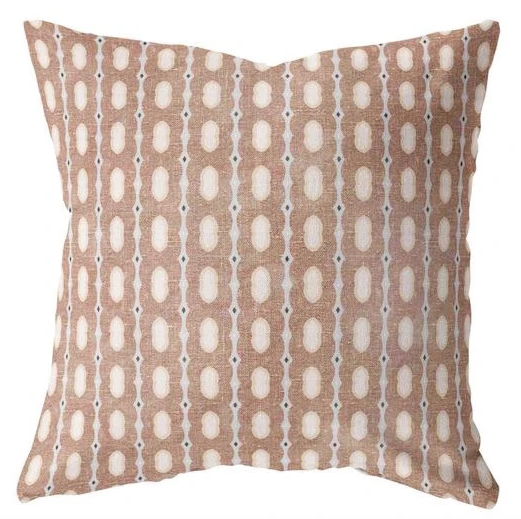 Moroccan Print Pillow