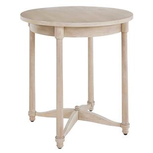 Whitewash Side Table