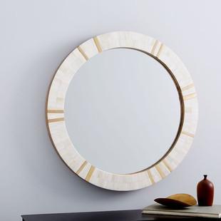 Brass & Bone Rays Wall Mirror