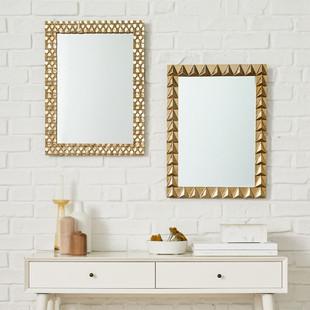 Textured Metal Mirrors
