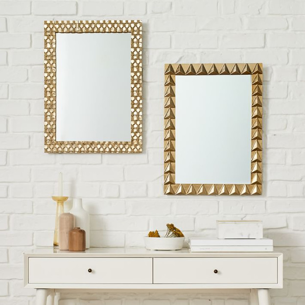 Textured Metal Mirrors