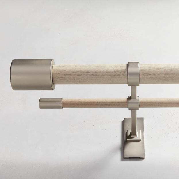 Mid-Century Double Rod