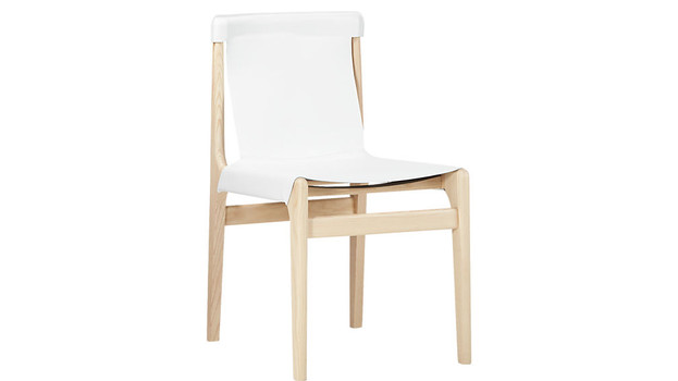 Leather Sling Dining Chair
