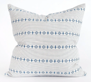 Indigo Boho Pillow
