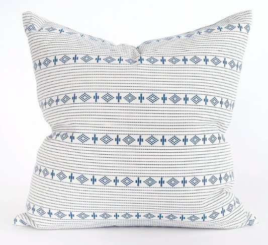 Indigo Boho Pillow