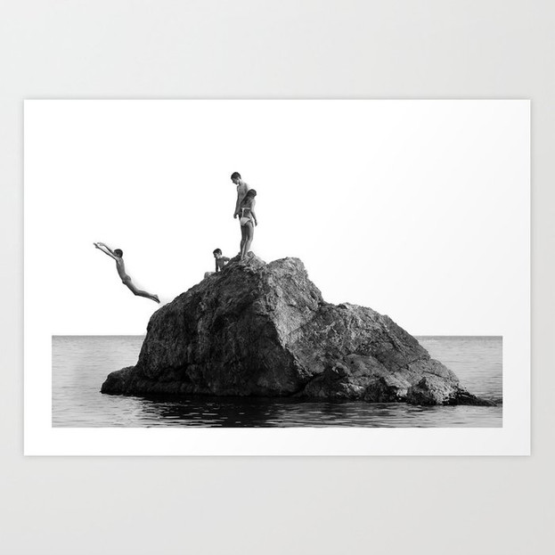 Boys Ocean Print