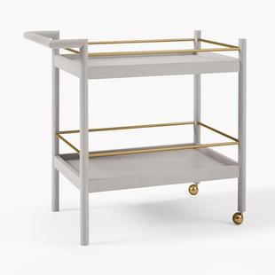 Mid-Century Bar Cart