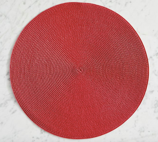 Woven Round Placemats - Set of 4