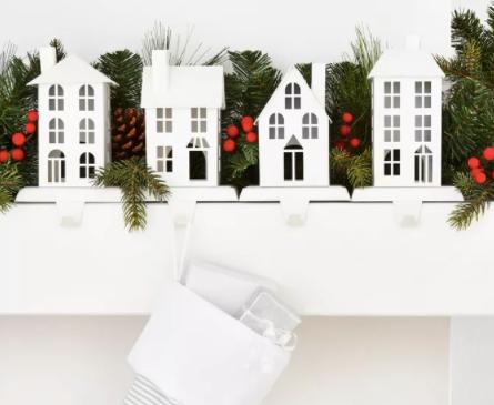4pk White House Christmas Stocking Holder