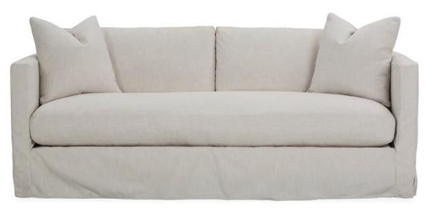 Shaw Slipcover Bench-Seat Sofa