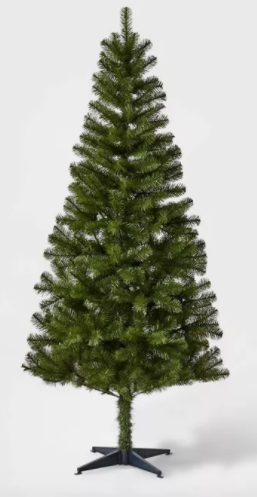 6ft Unlit Artificial Christmas Tree Alberta Spruce